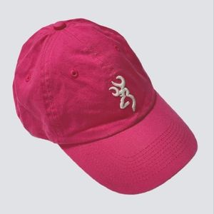 Browning Pink Hunting Bush Cap Baseball Hat
